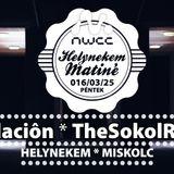 fundacion Live @ Helynekem Matiné Night, NWCC Miskolc 2016-03-25