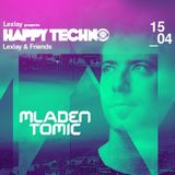 Mladen Tomic live at Happy Techno, City Hall, Barcelona, Spain, 15.04.2017.