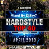 Q-Dance Hardstyle Top 40 April 2013  (Mixed by DjSky7)