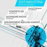 Alexandar Ivkovic @ Edit-Techno_Klub Ilegala (Industria) 090213
