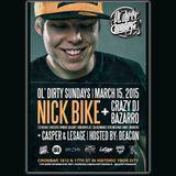 Nick Bike - Live @ Ol' Dirty Sundays (15MAR2015)