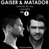 Gaiser Essential Mix @ BBC Radio 1 (05.07.2014)