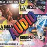 audio Luv Messenger ls Bundem , La jani & La Nora RudeTeo BDayBash 2017 Canibal Apolo