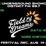 FIELD OF DREAMS 2015- DATA BASS B2B MISS CHEVIOUSS LIVE RECORD - RinseUnderground -DistinctFM 99.7