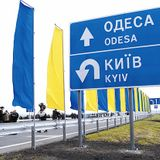 Driving from Kyiv to Odesa (slightly exceeding the speed limit)