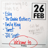Welcome to Friday - 2/26/16