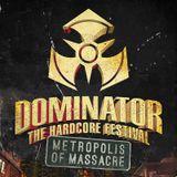 Angerfist Live @ Dominator Festival 2014 | #Dominator14