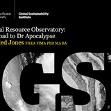Global Resource Observatory: the road to Dr Apocalypse | CUSP Seminar w/ Aled Jones, 11 Oct 2016