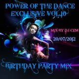 POWER OF THE DANCE BİRTH DAY PARTY MIX VOL.10