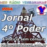 Jornal 4 Poder 14-06-2014 - Web Rádio Yesbananas / Rádio Mega - Santa Fé do Sul #santafedosul