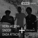 Vera Medina + Snoop + DaDa Attack [live improv] ecce live #1 - feb 03 2017