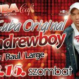 Raul Warm Up Before Andrewboy @ Cuba Cafe 2014.03.15.