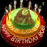 \\\ LION OF JUDAH - HAPPY 72º B-DAY KING MARLEY ///