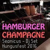 """Hamburger Champagne"" - Hungusfest 2016 - Seanicus DJ Set #3"