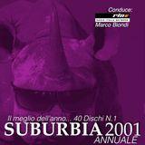 SUBURBIA CHART 29 Dicembre 2001 CLASSIFICA ANNUALE - RIN RADIO ITALIA NETWORK