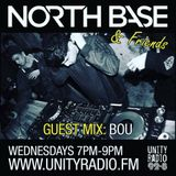 North Base & Friends Show #45 Guest mix by BOU 6/9/17