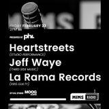 MIMS Radio - Season 2 Episode 1 (Heart Streets, Jeff Waye, La Rama Records)
