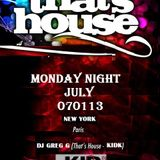 That's House  Monday Night  July 070113