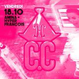 C.C Party - B2B Amina + Hyper Francois - 18 oct 2019 - Le Klub
