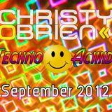 Christy O'Brien - September 2012 Techno-Acid Mix