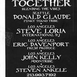 Donald Glaude Recorded Live at Together on January 5th 1996 at Thee Loft in DTLA