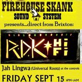 RDK at Firehouse 15/09/17