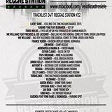 24/7 Reggae Station #22 (29.09.2017)