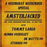 Tommy Largo Live @ Amsterjacked, Cue Bar Amsterdam, April 27 2012
