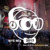Best of 2016 NYE Mainstream Mix 123116