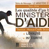 LES QUALITES D'UN BON MINISTERE D'AIDE 4-9
