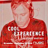 "Sergio Martínez presents ""Cool Experience""- NUBE MUSIC Radio - Dj session - September 12, 2018."