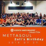 Ecstatic Dance Connection - Zoli's Birthday - 20190727