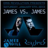 Rory James Live @ Santos Party House (NYC) 1_5_2013 - 'James vs James'