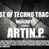 BEST OF TECHNO TRACKS / March2017 Mixed by Artin.P