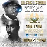 ((EAST COAST vs WEST COAST)) (All Star Radio) (DJ Se7en Mix)