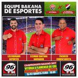 Narração da partida Vitória 6x1 Flamengo de Gbi - Elsimar Santana, Léo Dourado e Pacheco Gomes 96fm