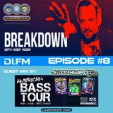 DI.FM - EPISODE #8 - Breakdown with Huda - Guest Mix by Si-Dog & Sweet Charlie (American Bass Tour)