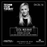 Zita Molnar at Techno Taco Tuesday, Las Vegas (recorded live mix) 04.26.2016