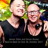 James Tobin and Simon Rooke: Back-to-Back at Club 28, October 2017
