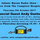 Johnny Mason Radio Show with Andy Gunton - 5th October, 2017