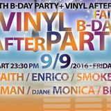 Dj Faith - Vinyl Party 10.9.2016 Studio 54 Prague