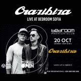 Crazibiza Live @ Bedroom Premium, Sofia (2018-10-20)