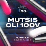 SAYFM 100h - Mutsis oli 100v 10.12.2017 (16:00 - 18:00)