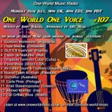 One World One Voice 107