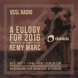 Remy Marc w/guest Katie Rex – VSSL Radio (01.04.17)