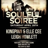 Leigh Howlett live @ Soulful Soiree 28.4.18