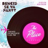 Alex Dovo @ Bencid Se Va Party (Caracas 08/20/15)
