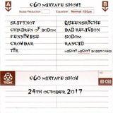 The C60 Mixtape Show 24th October 2017