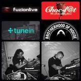 Choc-l@t Sessions On www.fuzionlive.com (Saturday May 18th 2019) - DJ Dubzy B2B With DJ Funky D