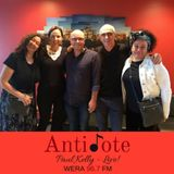 Ep 46: Paul Kelly - in studio performance and interview with Australia's iconic songwriter on tour